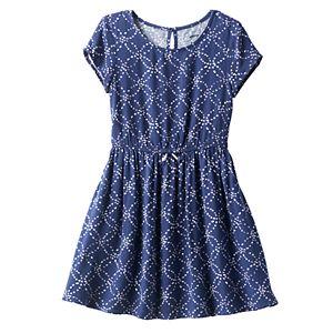 Girls 4-7 SONOMA Goods for Life™ Circle Print Skater Dress