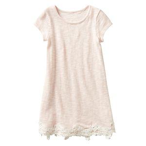 Girls 4-7 SONOMA Goods for Life™ Lace Hem Dress
