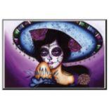 Art.com Blue Sombrero Wall Art