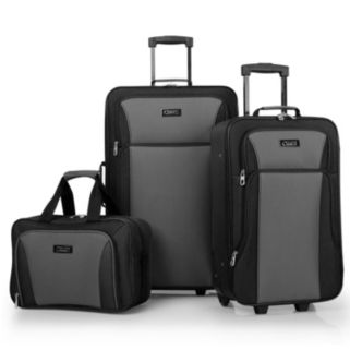 Chaps Brentwood Hall 3-Piece Wheeled Luggage Set