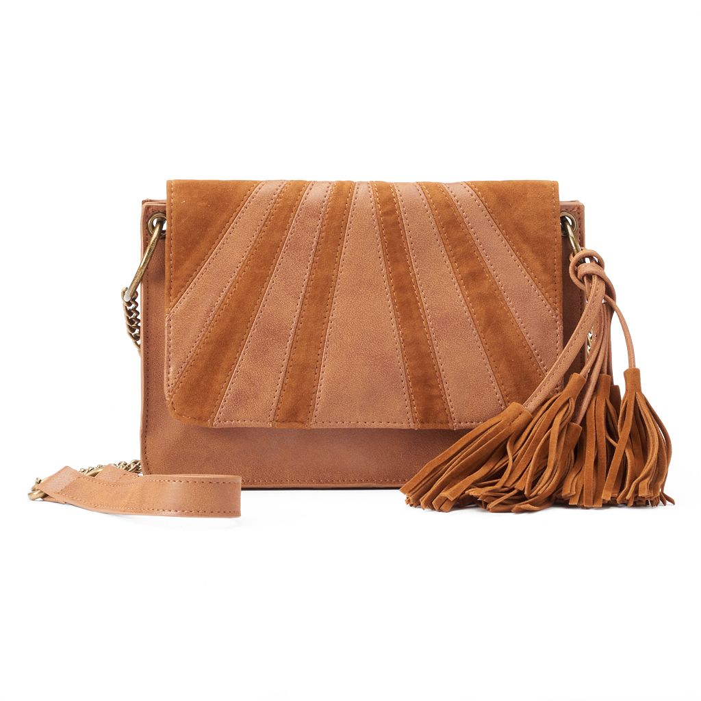 SONOMA Goods for Life™ Sofie Tassel Crossbody Bag