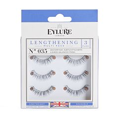 Eylure 3 pk035 Lengthening False Eyelashes Set
