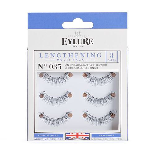 Eylure 3-pk. 035 Lengthening False Eyelashes Set