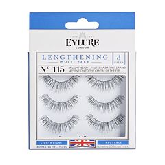Eylure 3 pk115 Lengthening False Eyelashes Set