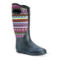 MUK LUKS Karen Women's Water-Resistant Rain Boots