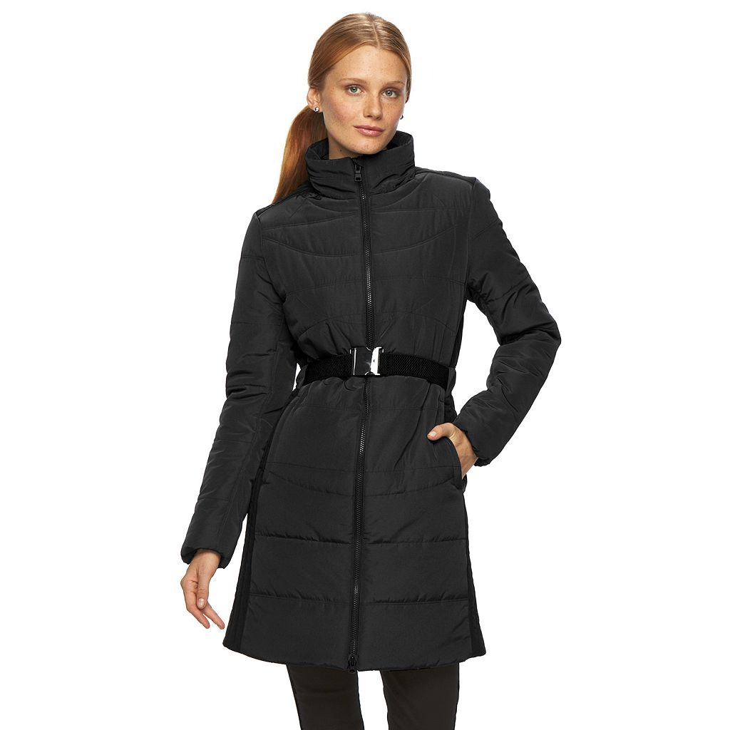 Women's Neo-I by Orobos Long Puffer Belted Parka