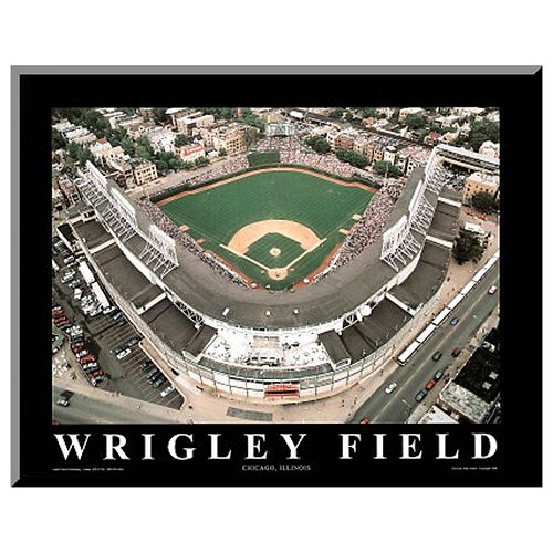 "Art.com ""Wrigley Field"" Wall Art"