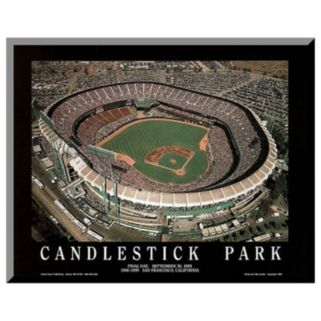 "Art.com ""Candlestick Park Final Day"" Wall Art"