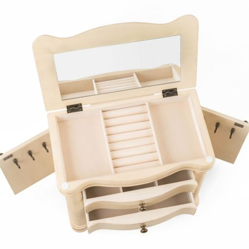 Hives & Honey Austin Wooden Jewelry Box