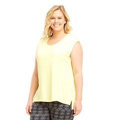 Plus Size Marika Curves High-Low Tee