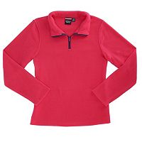 Toddler Girl French Toast 1/4-Zip Fleece Pullover