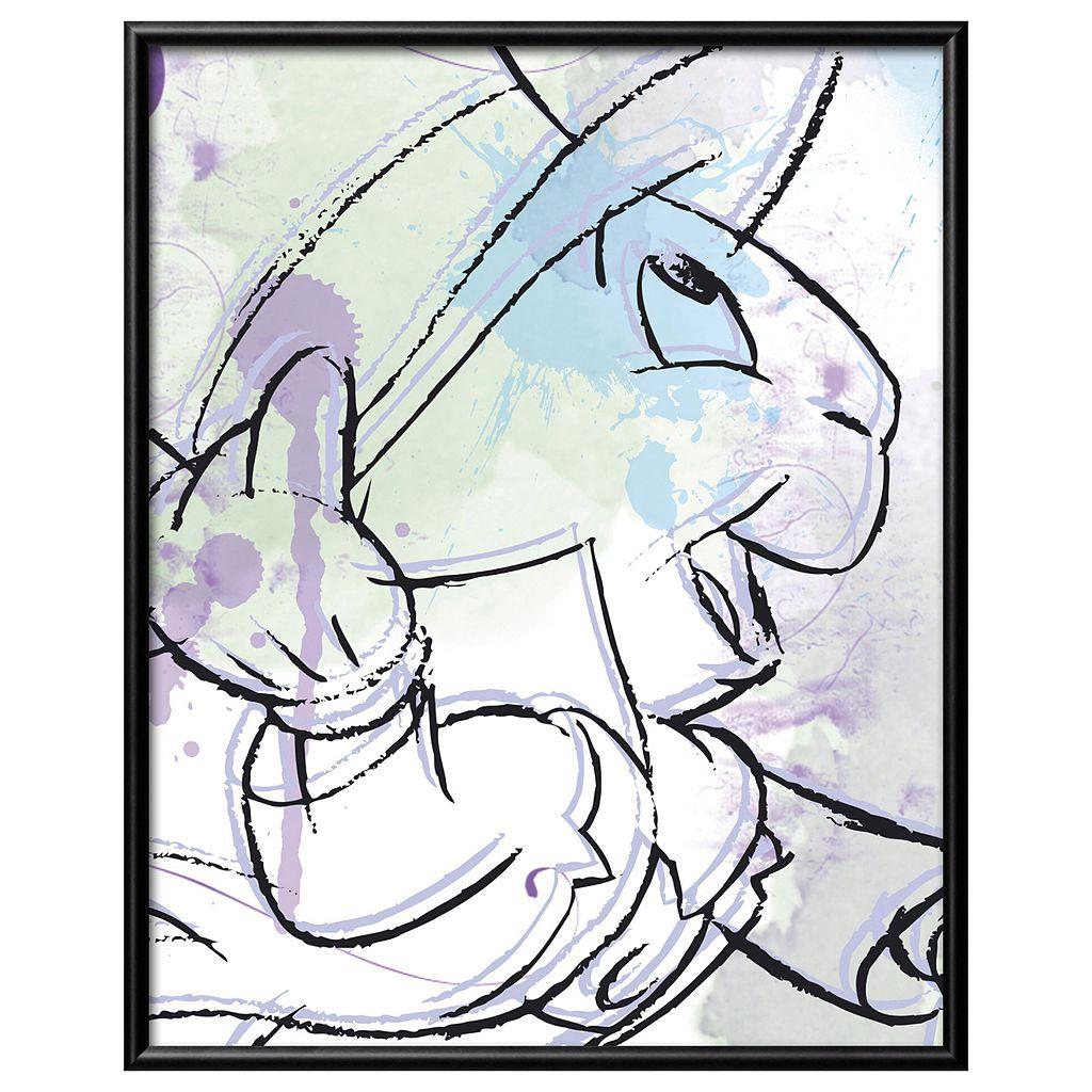 Disney's Pinocchio Jiminy Cricket Framed Wall Art by Art.com