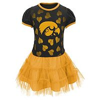 Baby Iowa Hawkeyes Tutu Dress