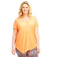 Plus Size Marika Curves Lexington Asymmetrical Tee