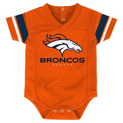 Baby Denver Broncos Team Jersey Bodysuit  hot sale