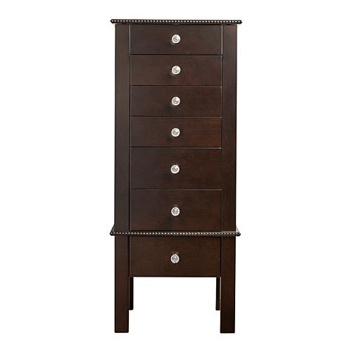 Hives & Honey Crystal Wooden Jewelry Armoire