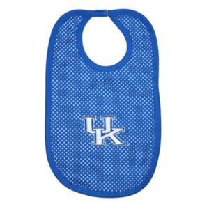 Baby Two Feet Ahead Kentucky Wildcats Pin Dot Bib