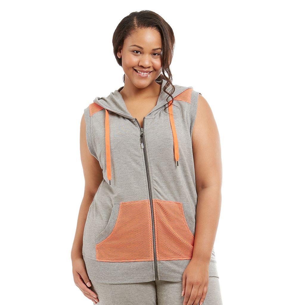 Plus Size Marika Curves Hooded Vest
