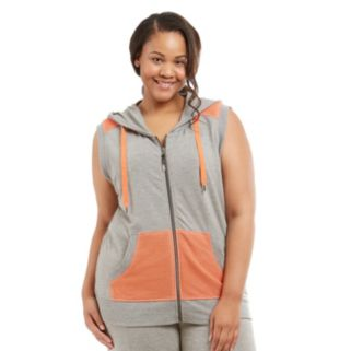 Plus Size Marika Curves Hooded Vest