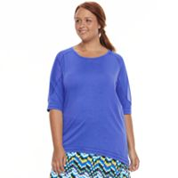Plus Size Soybu Acro Dolman Top