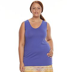 Plus Size Soybu Lola Scoopneck Yoga Tank