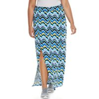 Plus Size Soybu Resort Maxi Skirt