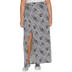 Plus Size Soybu Resort Maxi Skirt