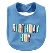 Baby Boy Carter's 'Birthday Boy' Bib