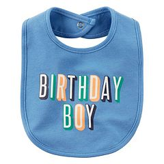Baby Boy Carter's 'Birthday Boy' Bib