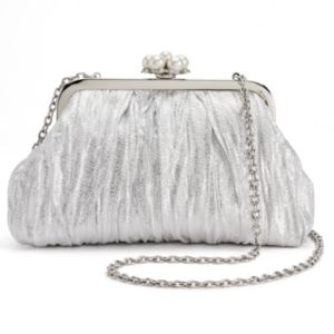 Lenore by La Regale Sparkle Jacquard Clutch