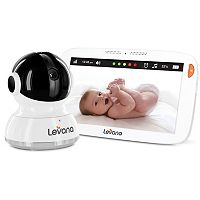 Levana Aria 7 in Touchscreen Pan, Tilt & Zoom Video Baby Monitor & Camera