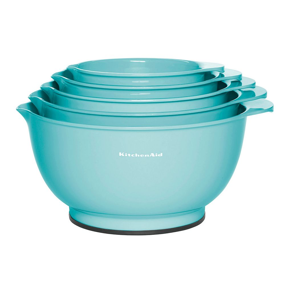 Kitchenaid Aqua Sky 5 Pc Mixing Bowl Set