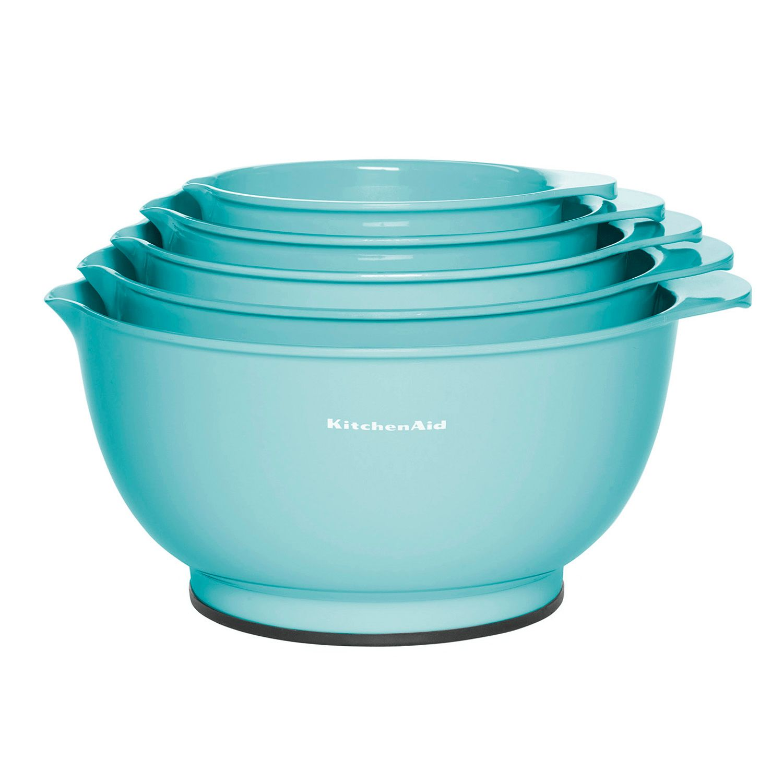 KitchenAid Aqua Sky 5 Pc. Mixing Bowl Set
