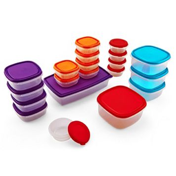 Colorworks 40-pc. Food Storage Container Set