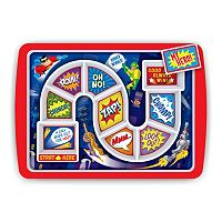 Fred & Friends Dinner Winner Super Hero Kid's Plate