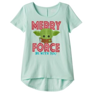 Girls 7-16 Star Wars Yoda