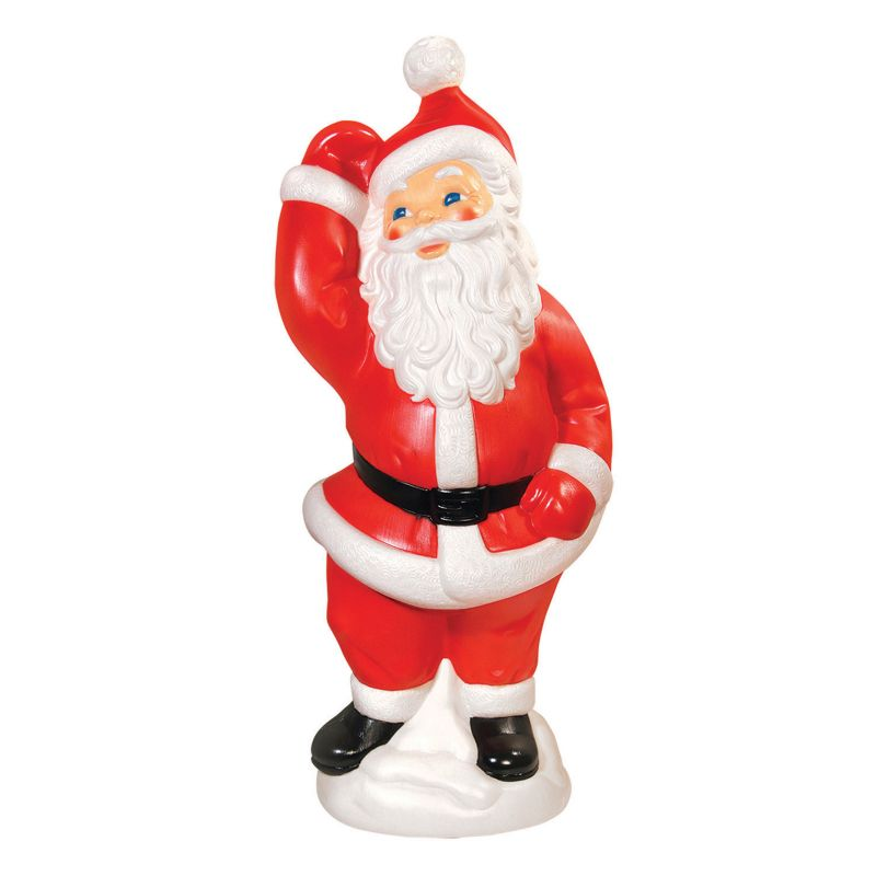 General Foam Plastics Dancing Santa Indoor / Outdoor Christmas Decor, Red