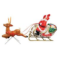 General Foam Plastics Santa's Sleigh Indoor / Outdoor Christmas Decor 2-piece Set
