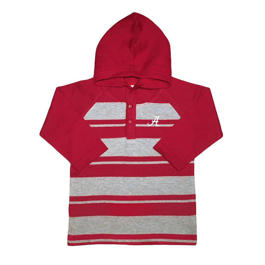 Toddler Two Feet Ahead Alabama Crimson Tide Long-Sleeve Hooded Shirt