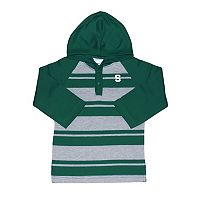 Toddler Two Feet Ahead Michigan State Spartans Long-Sleeve Hooded Shirt