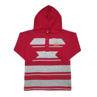 Toddler Two Feet Ahead Minnesota Golden Gophers Long-Sleeve Hooded Shirt