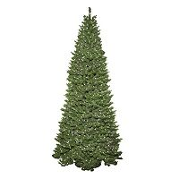General Foam Plastics 9-ft. Pre-Lit Slender Spruce Artificial Christmas Tree