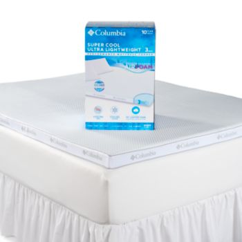 Columbia Super Cool 3-inch Performance Mattress Topper