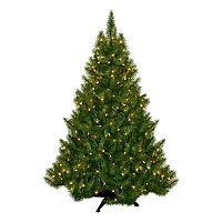 General Foam Plastics 4.5-ft. Pre-Lit Montana Pine Artificial Christmas Tree