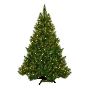 General Foam Plastics 4.5-ft. Pre-Lit Montana Pine Artificial Christmas Tree