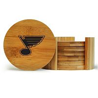 St. Louis Blues 6-Piece Bamboo Coaster Set