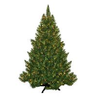 General Foam Plastics 4.5-ft. Multicolor Pre-Lit Montana Pine Artificial Christmas Tree
