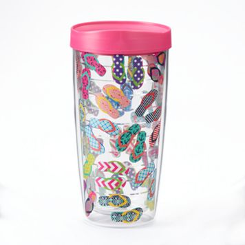 Signature Tumblers Traveler Flip-Flops 16-oz. Insulated Tumbler