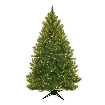 General Foam Plastics 6.5-ft. Pre-Lit Montana Pine Artificial Christmas Tree