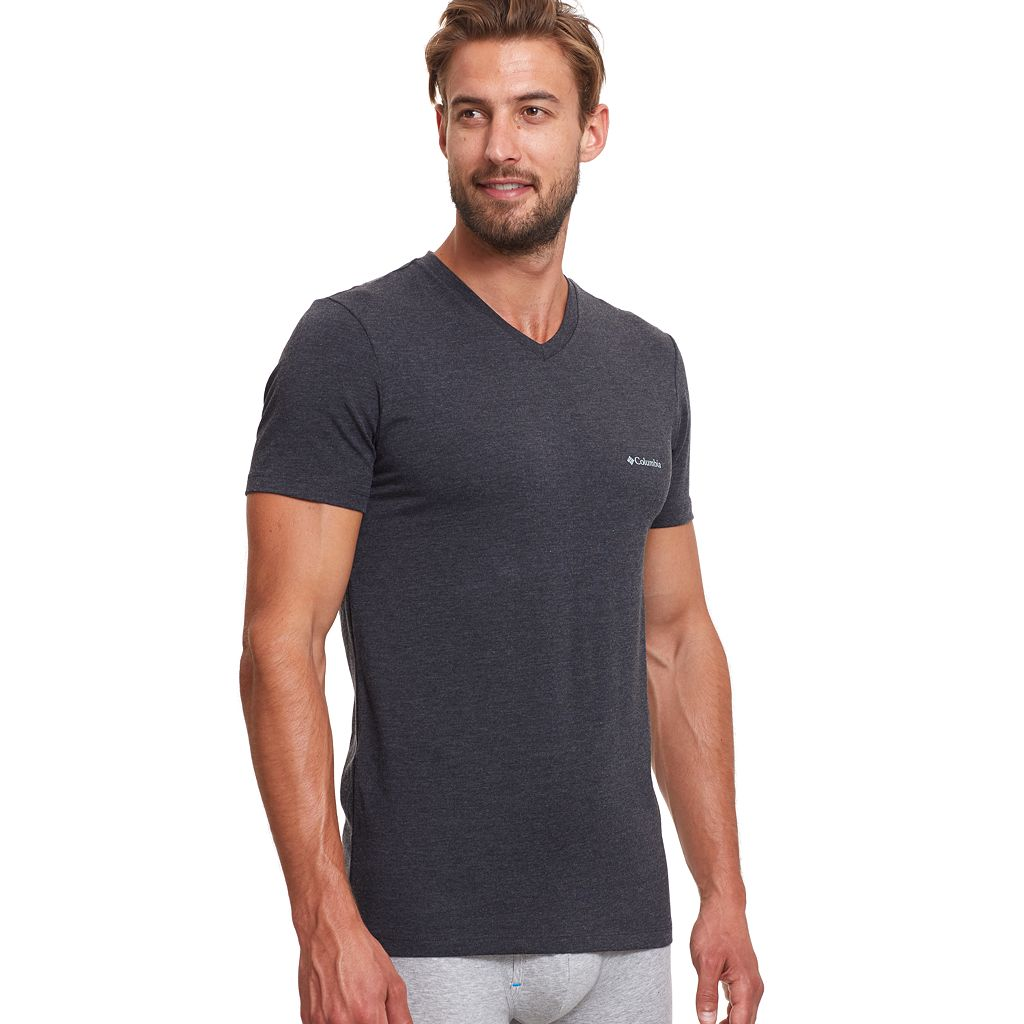Men's Columbia 2-pack Omni-Wick Stretch Performance V-Neck Tee
